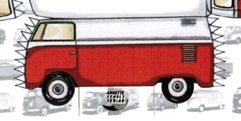 VW Bus Typ 2  (T1b) Transporter