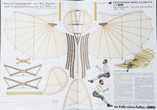 Otto Lilienthal Flieger